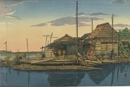 1931 print of Haneda fisheries
