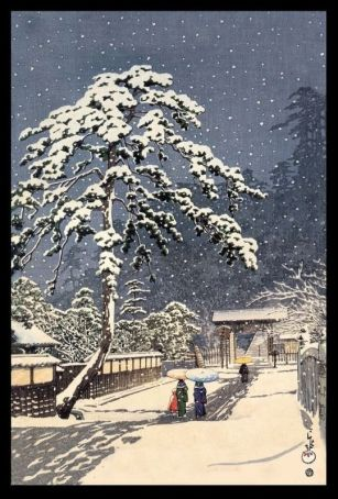 ikegami in the snow
